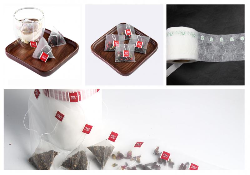 Nylon tea bag roll film